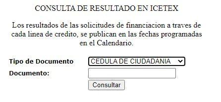 formulario aprobacion credito icetex