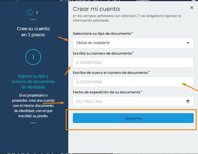 formulario igac Bogotá